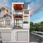 Mẫu Nhà Ống 3 Tầng Hiện Đại Đẹp Tại Mỹ Lộc Nam Định