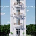 Mẫu Nhà Ống Đẹp 5 Tầng 580m2 Tại Tiên Nữ Hưng Yên