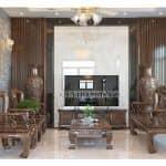 Mẫu Nội Thất Phòng Khách Của Biệt Thự Hiện Đại Đẹp Năm 2020 Tại Bình Lục Hà Nam