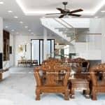 Mẫu Nội Thất Phòng Khách Ngủ Bếp Đẹp Cho Nhà Phố Tại Bắc Ninh