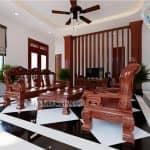 Mẫu Nội Thất Phòng Khách Phòng Bếp Phòng Thờ Đẹp Năm 2020 Tại Hưng Yên