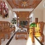 Mẫu Nội Thất Phòng Khách Phòng Thờ Đẹp Năm 2020 Tại Tam Dương Vĩnh Phúc
