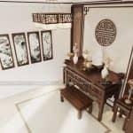Mẫu Nội Thất Phòng Khách Phòng Thờ Phòng Bếp Cùng Phòng Ăn Đẹp Tại Bắc Giang