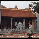 Mẫu Từ Đường Đẹp Diện Tích 6.5×7.5m Họ Phạm Tại Ninh Bình