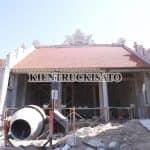 Mẫu Từ Đường Kèm Nhà Ngang Đẹp Năm 2020 Tại Phúc Thọ Hà Nội