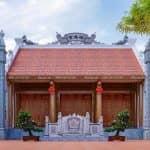 Mẫu Từ Đường Kèm Nhà Ngang Tại Hưng Hà Thái Bình