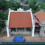 Mẫu Từ Đường Nhà Họ Vũ Diện Tích 8,5x8m Tại Nam Định
