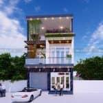 Ngắm Nhìn Mẫu Nhà Ống 2 Tầng Đẹp Tại Thành Phố Thái Nguyên