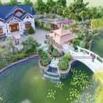 Ngất Ngây Với Mẫu Sân Vườn Đẹp Cho Nhà Vườn Tại Nam Định