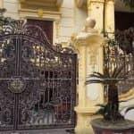 Thăm Quan Mẫu Biệt Thự Có Cổng Nhôm Đúc Đẹp Tại Thái Bình