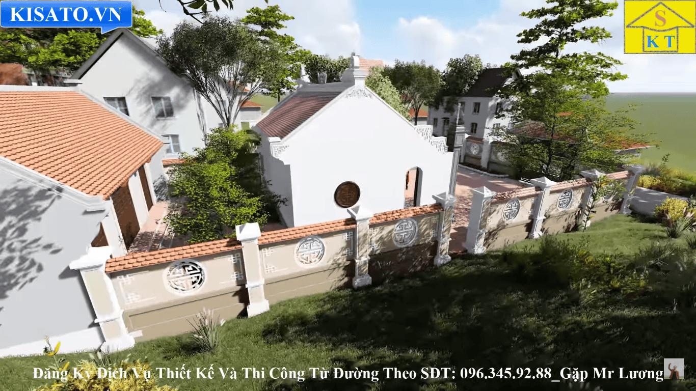 Hàng rào nhà thờ họ tại Hải Dương
