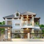 Thi Công Trọn Gói Mẫu Biệt Thự 2 Tầng Hiện Đại Ở Đồng Hỷ, Thái Nguyên