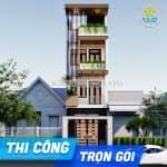 Thi Công Trọn Gói Mẫu Nhà Ống 3 Tầng 1 Tum Tại Kinh Môn Hải Dương Từ A- Z