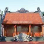 Mẫu Từ Đường Kết Hợp Nhà Ngang – Kiến Trúc Tâm Linh Tại Quảng Trạch, Quảng Bình