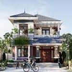 Lạc Lối Trong Vẻ Đẹp Trang Nhã Của Mẫu Biệt Thự 2 Tầng Mái Nhật Tại Quảng Bình