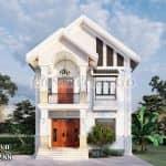 Nghệ Thuật Kiến Tạo – Mẫu Biệt Thự 2 Tầng Mái Thái Ấn Tượng Tại Hải Phòng
