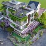 Nhìn Là Mê – Mẫu Biệt Thự 3 Tầng Hiện Đại Bậc Nhất Tại Bình Phước