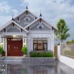 Xem Xong Mẫu Nhà Cấp 4 Mái Thái Tại Thanh Hóa Này Sẽ Khiến Bạn Phải Yêu Thích Nó