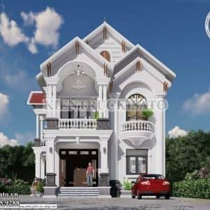 Mẫu Biệt Thự Tân Cổ điển 2 Tầng Mái Thái Tại Đắk Lắk (1)_new-min